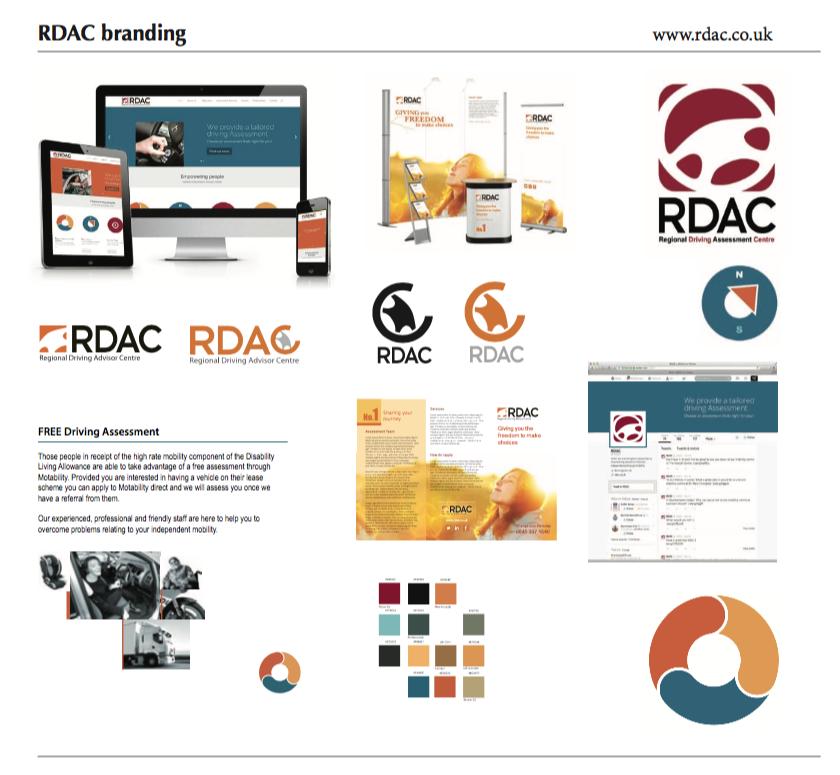 RDAC branding theme board